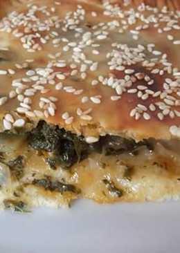 #خباز-كوكباد فطيره سبانخ و دجاج