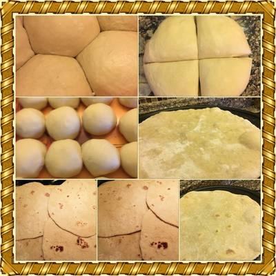 خبز مكسيكي (تاكو)