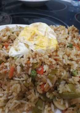 أرز صيني بالخضار