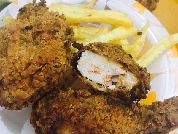 دجاج كرسبي حار