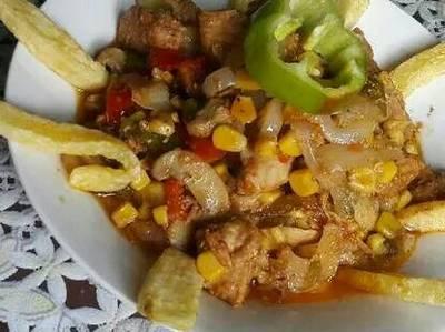 غداء سريع#فاهيتا الدجاج
