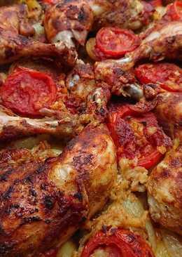 صينية دجاج 🍗🍗 ☺😋