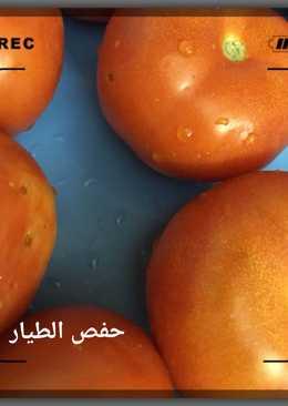 الطماطم المطبوخه للتخزين
