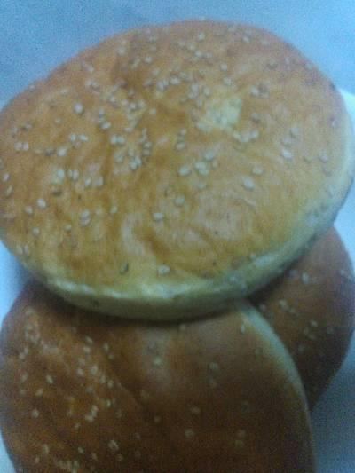خبز البرجر🍔