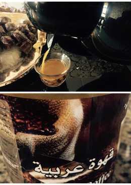قهوة عربيه بطريقتي
