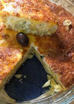 بيتزا البطاطس في الفرن 👍