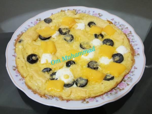 بيض مقلي بالأجبان #ملك_الجبنة 🧀🥚🍳