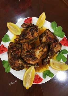 دجاج محمر بالفرن