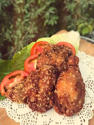 بروستد الدجاج 🍗
