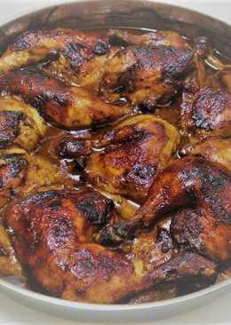 شيش طاووق بأفخاذ الدجاج