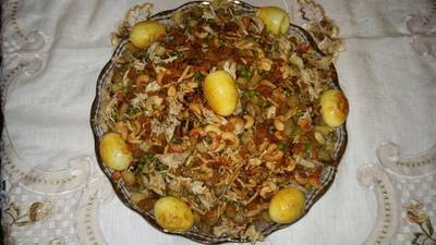 برياني دجاج (عراقي)