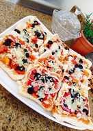 بيتزا التوست سهلة ولذيذة خاصة للأطفال 😍😋 بيتزا خبز التوست 🥪🍕
