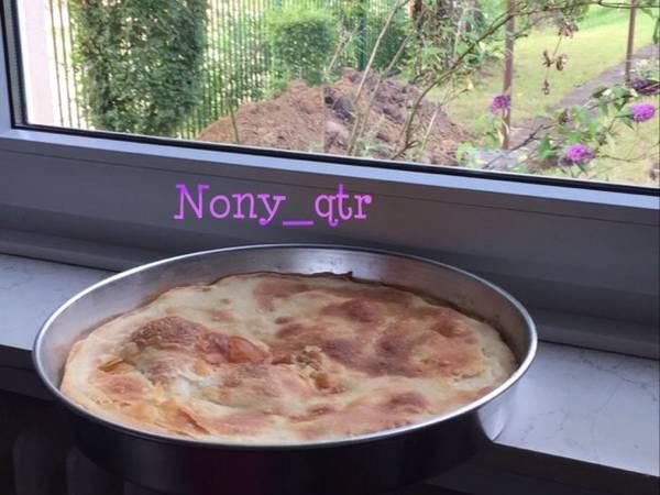 الخبز بالفرن من يدين امي ????❤️