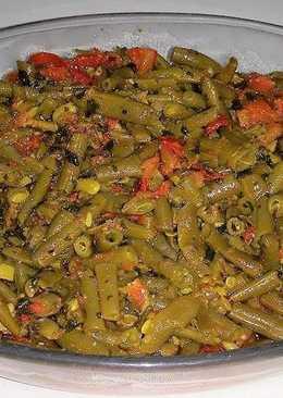 #أكلات_للعروس الفاصولياء الخضراء بالزيت على الطريقة السورية