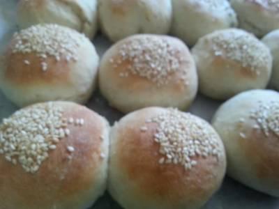 خبز البرجر