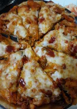 بيتزا بالدجاج