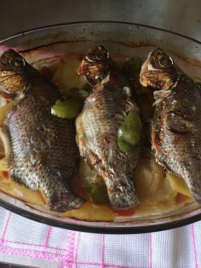 صينيه سمك فى الفرن
