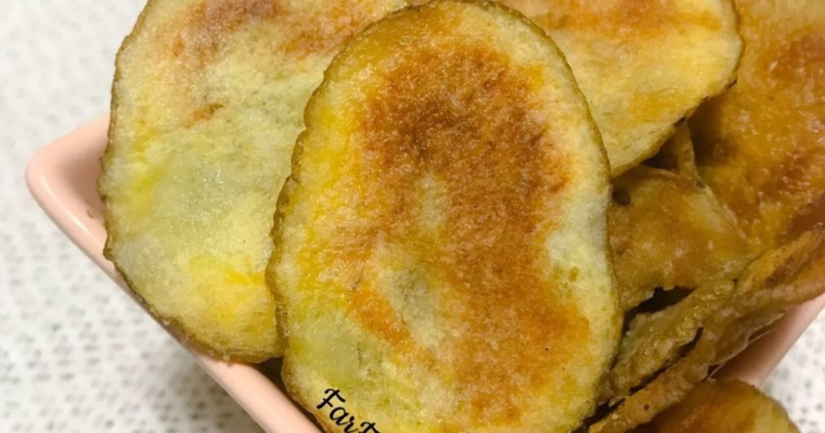 طريقة عمل بطاطس شيبس بالفرن 25 وصفة بطاطس شيبس بالفرن سهلة وسريعة
