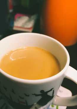 شاي كرك او حليب عدني 👌🏻♥️