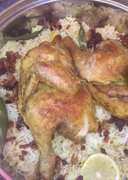 مندي دجاج بالفرن