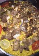 كبسة اللحم الخليجية