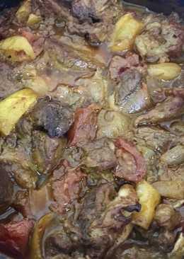 طاجن اللحم بالبصل 😋