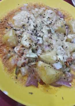 صحن البطاطس مع الجبنة #ملك_الجبنة