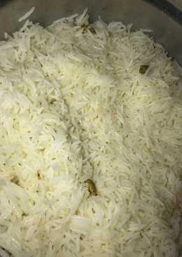 الرز الأبيض المفلفل