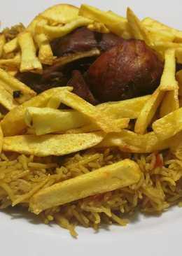 مجبوس دجاج على الطريقة البحرينية