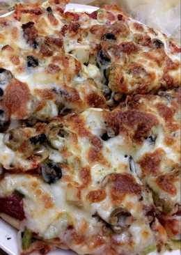 بيتزا لذيذة