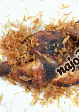 الدجاج المشوي بالتتبيله الهنديه 🌟🌟