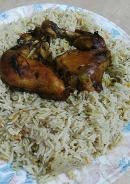 رز و دجاج بخاري