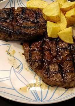 ستيك لحم لذيذ #وصفات_رمضانيه