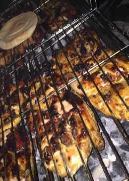 دجاج بالزعتر مشوي بالفرن او عالفحم 😅😘