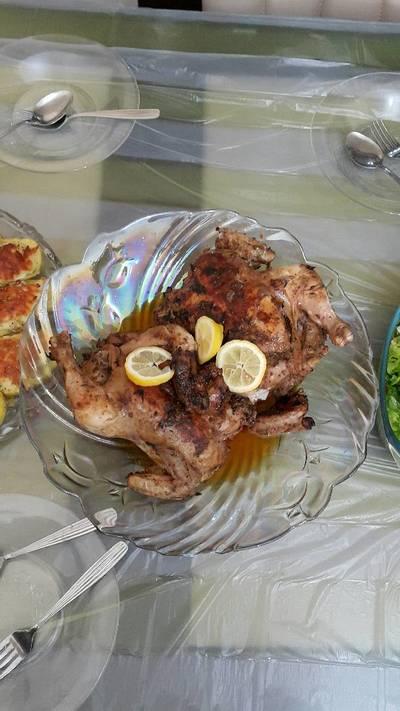 دجاج مشوي بلفرن