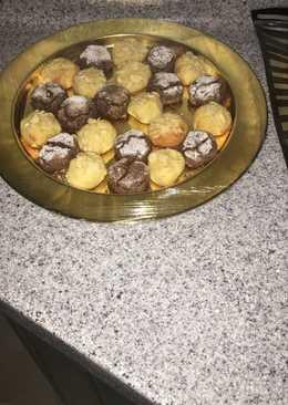 بسكوت الكوك وسميد مغربي معلك