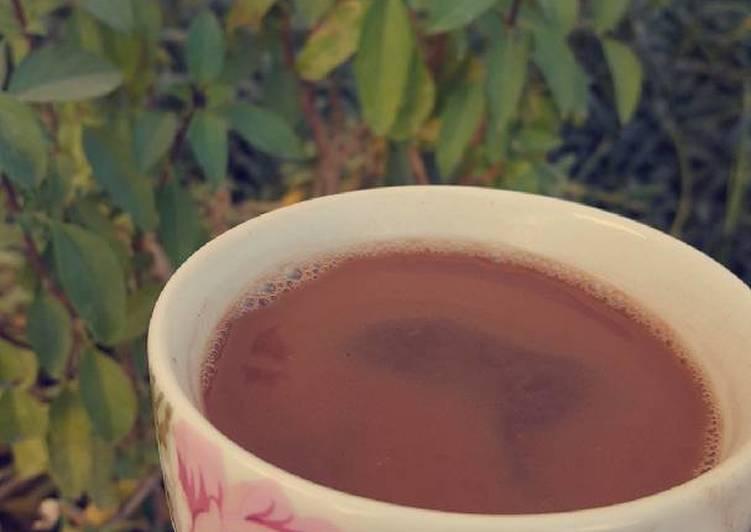 قهوه تركيه بالنوتيلا