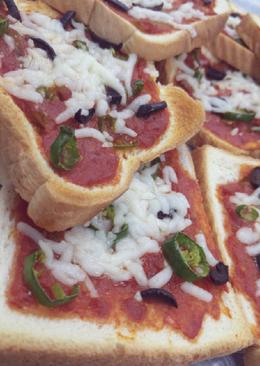 بيتزا التوست