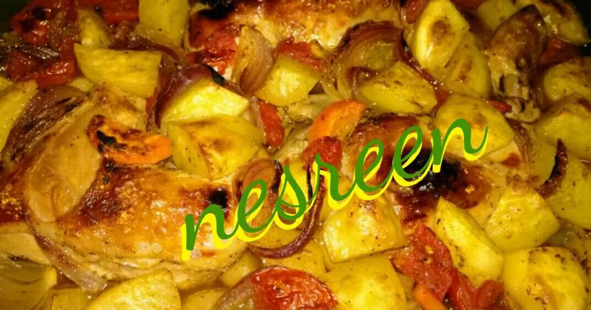 20f4bab92 طريقة عمل صينية بطاطس بالفرن بدون لحم - 102 وصفة صينية بطاطس بالفرن بدون  لحم سهلة وسريعة - كوكباد