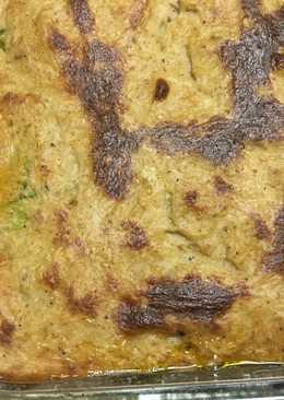 مسقعة كوسا باللحم المفروم والبشاميل😋
