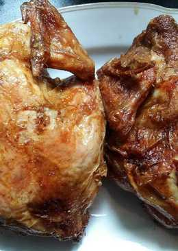 دجاج مشوي طعم روووعة ☺😋🐓🐓