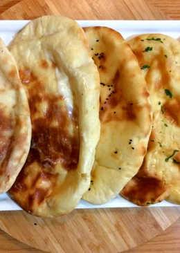 خبز النان الهندي #أكلات_بالزبادي