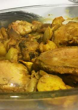 دجاج بالكركم