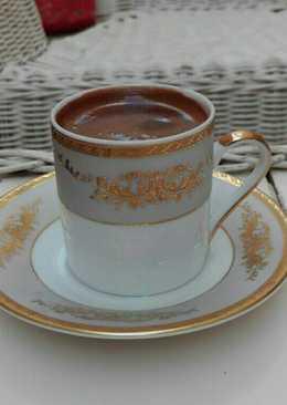 قهوة تركية بالنوتيلا❤