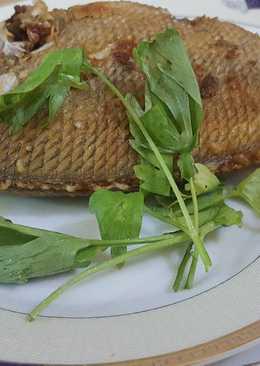 سمك مقلي