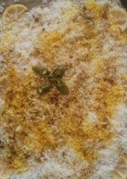 صينيه الدجاج والارز بالخضار في الفرن