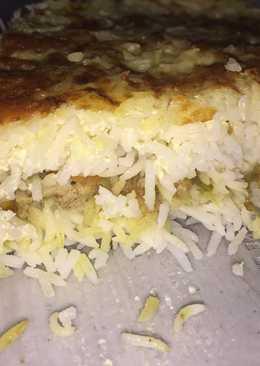صينية الرز بالدجاج والكريمة ✨