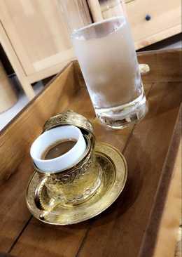 القهوه التركية بالحليب