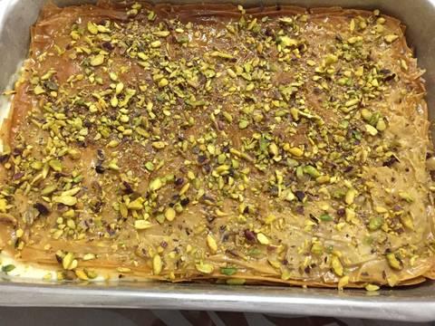 photo - نمورة بالقشطة على طريقة المطبخ العربي بالصور