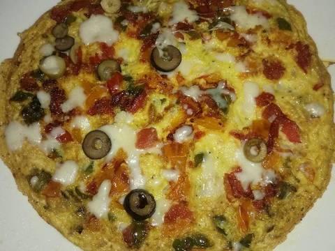 بيض بيتزا
